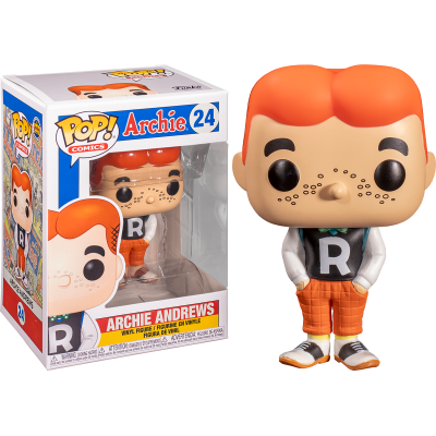 Funko POP! Comics: Archie - Archie Andrews #24 Vinyl Figure