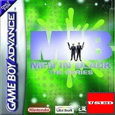 MIB Men In Black: The Series GameBoy Advance USED