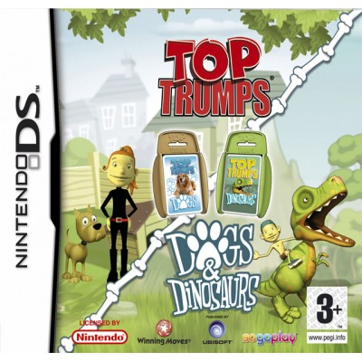 Top Trumps: Dogs & Dinosaurs DS NEW