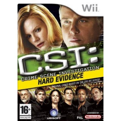 CSI: Hard Evidence Wii NEW
