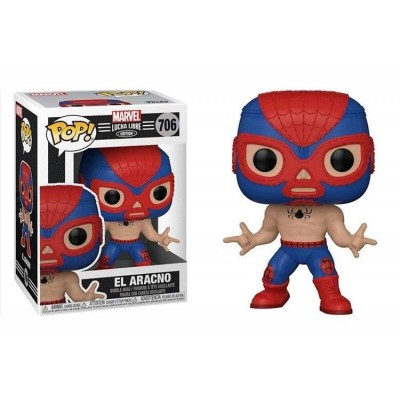 Funko POP! Marvel: Luchadores - Spider-Man #706 Vinyl Figure