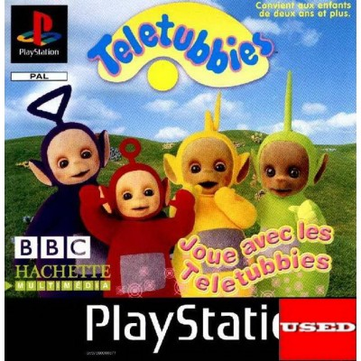Teletubbies: Play With The Teletubbies PSX USED