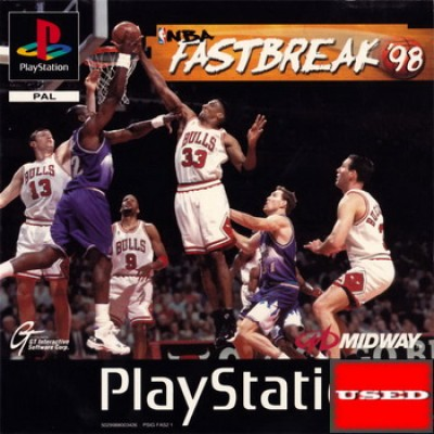 NBA Fastbreak 98 PSX USED
