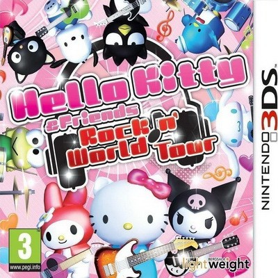 Hello Kitty & Friends: Rock n' World Tour 3DS NEW