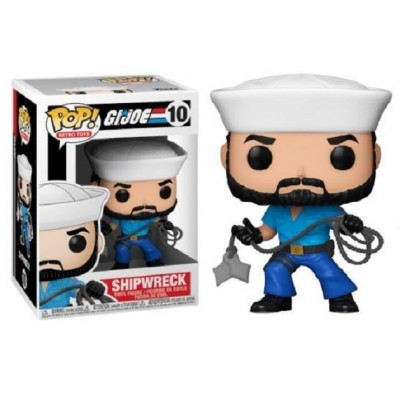 Funko POP! Vinyl: GI Joe - Shipwreck #10 Vinyl Figure