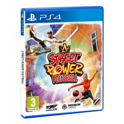 Street Power Football  PS4 NEW