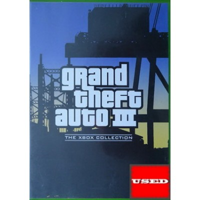 Grand Theft Auto III (Collection) XBOX USED