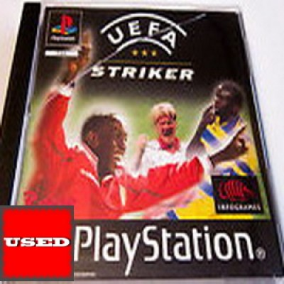UEFA Striker PSX USED