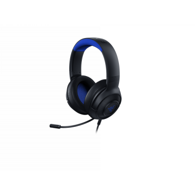 Razer KRAKEN X PS4 - Black/Blue Analog Gaming Headset
