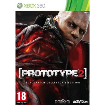 Prototype 2 Blackwatch Collectors Edition X360 NEW