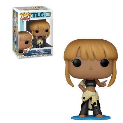 Funko POP! Rocks: TLC - T-Boz w/Chase #195 Vinyl Figure
