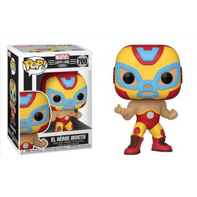 Funko POP! Marvel: Luchadores - Iron Man #709 Vinyl Figure