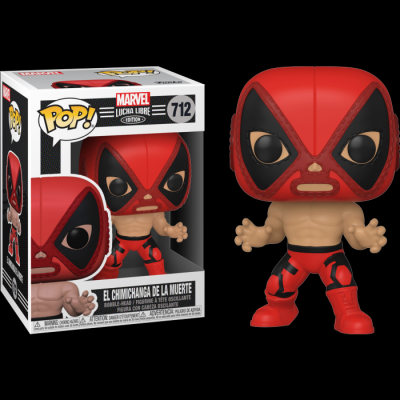 Funko POP! Marvel: Lucha Libre Edition - El Chimichanga De La Muerte #712 Bobble-Head Vinyl Figure