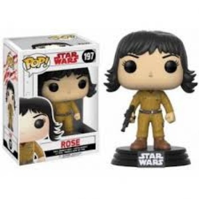 POP! Star Wars Ep. 8 The last Jedi - Rose #197 Vinyl Bobble-Head Figure