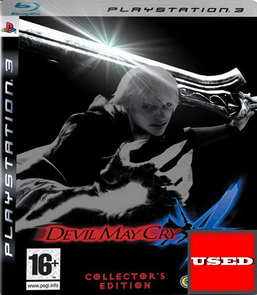 Devil May Cry 4 (Damaged Steelbook+Game) PS3 USED