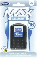 Datel Max Memory Card 16 MB PS2 NEW