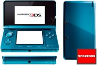 Nintendo 3DS Aqua Blue USED