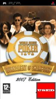 The World Series of Poker: Tour. of Cham. PSP USED