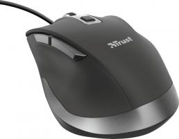 TRUST - Fyda Wired Comfort Mouse - Black 23808