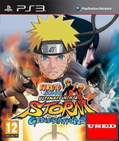 Naruto Shippuden Ultimate Ninja Storm Generations PS3 USED (GER)