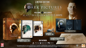 The Dark Pictures Anthology: Volume 1 Limited Edition  PS4 NEW