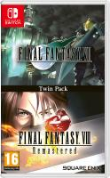 Final Fantasy VII  + Final Fantasy VIII Remastered Twin Pack  Nintendo Switch  NEW