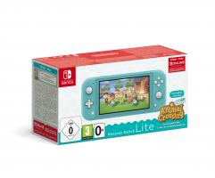 Nintendo Switch Console Lite Turquise + Animal Crossing + 3M NSO G/R