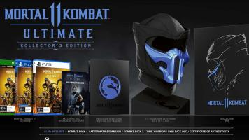 Mortal Kombat 11  Ultimate Kollector's Edition   ( XONE & XBOX SERIES X )  NEW