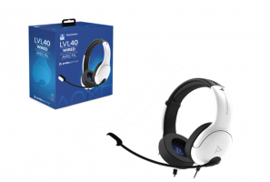 PDP Gaming Headset LVL 40 Stereo for Playstation 5  White