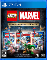 LEGO Marvel Collection (3-pack)  PS4 NEW