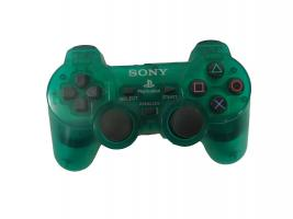 Sony-Playstation2Official-Controller-Crystal-Clear-Green