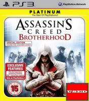 Assassins Creed: Brotherhood (Platinum) PS3 USED (Disc Only)