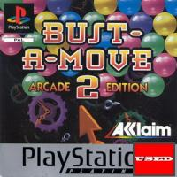 Bust-A-Move 2: Arcade Edition (Platinum) PSX USED (No Manual)