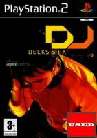 DJ: Decks & FX House Edition PS2 USED (No Manual)