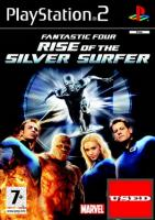 Fantastic Four: Rise of the Silver Surfer PS2 USED (No Manual/ Damaged Cover)