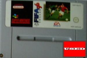 FIFA Soccer 96 SNES UNBOXED (Worn Sticker)