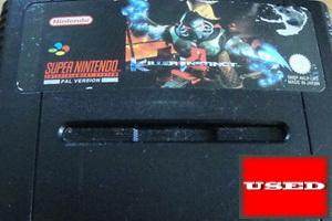 Killer Instinct SNES UNBOXED (Worn Sticker)