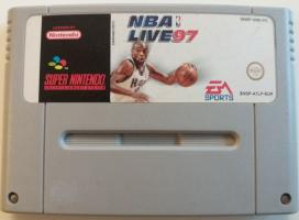 NBA Live 97 SNES UNBOXED (NTSC)