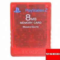 official-sony-8mb-red-memory-card-for-playstation-2-used