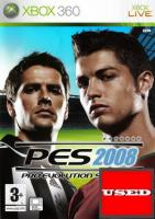 Pro Evolution Soccer 2008 X360 USED (No Manual)
