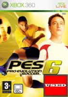 Pro Evolution Soccer 6 X360 USED (No Cover)