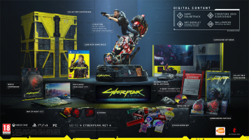 Cyberpunk  2077  Collector's Edition  PS4 NEW & Preorder Bonus