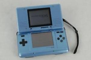 Nintendo DS Fat Blue USED (Unboxed) (Sticker on the Front/Scratched)