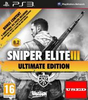 Sniper Elite III  PS3 USED (No Manual)