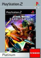 Star Wars: Starfighter (Platinum) PS2 USED (No Manual)