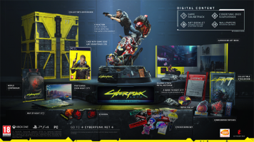 Cyberpunk  2077  Collector's Edition   PC  NEW  & Preorder Bonus
