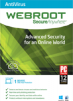 Webroot SecureAnywhere Antivirus 2015 (1 Year,1 Licence)