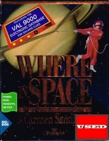 Where in Space is Carmen Sandiego? MS-DOS USED