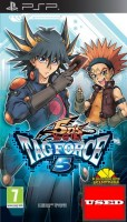 Yu-Gi-Oh! 5Ds Tag Force 5 PSP USED