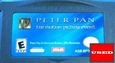 Peter Pan: The Motion Picture Event GBA UNBOXED_product